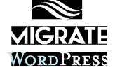 Migrate WordPress – MigrateWPsite.com Logo